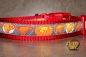 dogs-art Potty Parade Easy Release Buckle Collar - red/potty parade