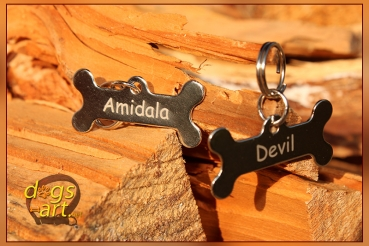 Personalized Bone Dog Tag