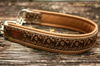 dogs-art Cheetah 002 Martingale Chain Collar