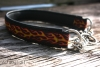 dogs-art Flames 001 Martingale with Chain