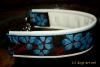 BIG-dog by dogs-art Martingale Chain Collar Flower 001