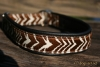 dogs-art Zebra 003 Martingale Collar